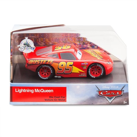 Машинка Молния МакКвин Тачки /Lightning McQueen Die Cast Car Cars фото 2